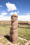 Héritage de Tiwanaku en Bolivie Photo libre de droits