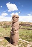 Héritage de Tiwanaku en Bolivie Photo libre de droits