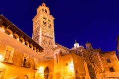 Héritage Espagne de Santa Maria Unesco de cathédrale d'Aragon Teruel photographie stock