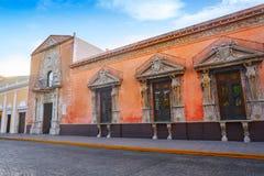Héritage national Yucatan de maison de Merida Montejo image libre de droits