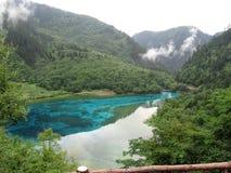 Héritage naturel de Jiuzhaigou-monde photographie stock