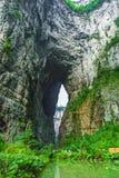 Héritage naturel du monde de Wulong Karst, Chongqing, Chine images stock