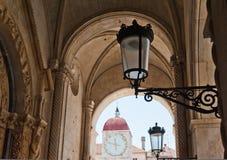 Héritage Trogir de l'UNESCO en Croatie images libres de droits