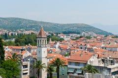 Héritage Trogir de l'UNESCO en Croatie image stock