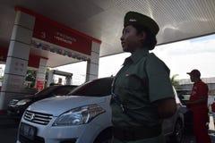 Héroe del Memorial Day en Semarang Foto de archivo libre de regalías
