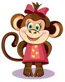 Héroe del mono Fotos de archivo