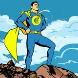 Héroe euro Imagenes de archivo