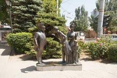 Héroes de historias a Chekhov A P Fotos de archivo libres de regalías