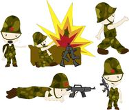 Héroes de la guerra libre illustration