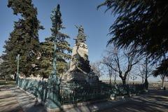 Héroes Segovia del monumento Imágenes de archivo libres de regalías