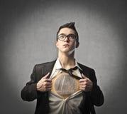 Héros de finances Images libres de droits