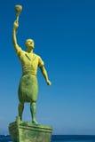 Héros de statue Images stock