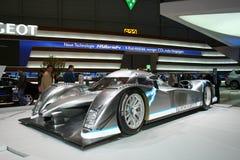 Híbrido 4 de Peugeot en Ginebra 2009 Foto de archivo libre de regalías