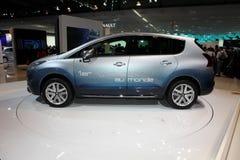 Híbrido de Peugeot 3008 fotos de stock