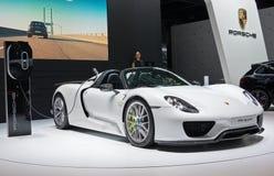 Híbrido de Porsche 918 Spyder Fotos de Stock Royalty Free