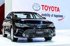 Híbrido de Toyota Camry Fotografia de Stock