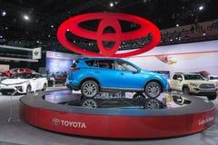 Híbrido 2016 de Toyota RAV4 Imagenes de archivo