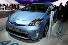 Híbrido del enchufe de Toyota Prius Fotos de archivo