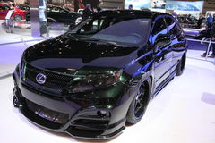 HÍBRIDO novo de Lexus RX 450h foto de stock