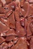 Hígado de cerdo Fotos de archivo