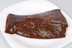Hígado de la carne de vaca Fotos de archivo libres de regalías