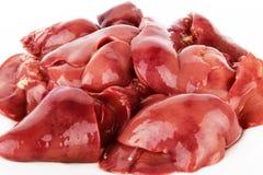 Hígado de pollo Imagen de archivo libre de regalías