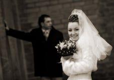Hарру wedding Stock Images