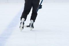 Hóquei em gelo Fotografia de Stock