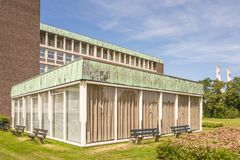 Hôpital construisant Reinier de Graaf Hospital dans Voorburg Images libres de droits