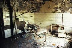 Hôpital de Chernobyl Pripyat photo stock