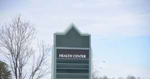 Hôpital de clinique de centre médico-social Image libre de droits