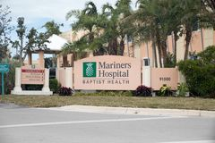 Hôpital de marins chez Baptist Health South Florida Photographie stock libre de droits