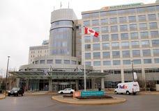Hôpital Général du nord de York photographie stock libre de droits