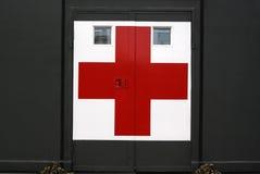 Hôpital militaire dans le camp Image libre de droits