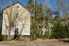 Hôpital psychiatrique abandonné photo libre de droits