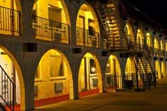 Hôtel 1 de nuit Image stock