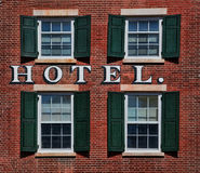 Hôtel Photo stock