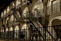 Hôtel 3 de nuit Image stock