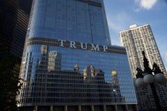 Hôtel Chicago du centre, IL d'atout photo libre de droits