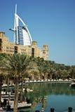 Hôtel d'étoiles de l'Arabe sept d'Al de Burj, Photographie stock