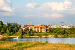 Hôtel d'Alicante de villa à Vilnius Photos libres de droits