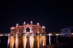 Hôtel d'Atlanis la paume Dubaï Photos libres de droits