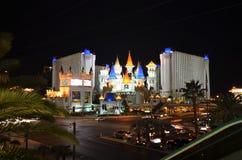 Hôtel d'Excalibur et casino, hôtel d'Excalibur et casino, hôtel d'Excalibur et casino, nouveau York-nouvel hôtel de York et casin Image libre de droits