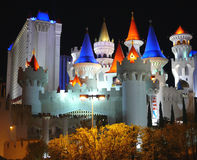 Hôtel d'Excalibur, Las Vegas Photo stock