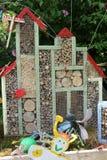 Hôtel d'insecte photographie stock libre de droits