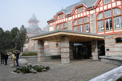 Hôtel dans haut Tatras Images libres de droits