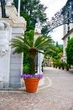 Hôtel dans Stresa sur le lac Maggiore, Italie image stock