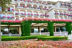 Hôtel dans Stresa sur le lac Maggiore, Italie images stock