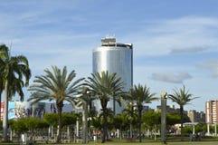 Hôtel de bâtiment de ` de plaza de Meru de `, ville de Guayana, Venezuela images libres de droits