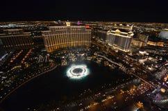 Hôtel de Bellagio et casino, Bellagio, station de vacances de Westgate Las Vegas et casino, structure, caractéristique géographiq Photographie stock